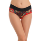 Cotton High Waisted, Tummy Smoothening Hipster - Red