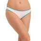 Cotton Low Waist Bikini - White