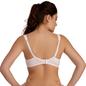 Cotton Spandex Full Coverage Nursing Bra In Pink