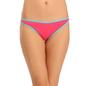 Cotton Mid Waist Bikini - Pink