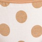 Cotton Mid Waist Bikini With 2 Cross String - White