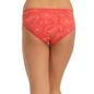 Cotton Mid Waisted Bikini - Orange
