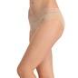 Cotton Mid Waisted Bikini With Contrast Waist - Skin