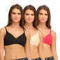Cotton Non-Padded Wirefree T-shirt Bra