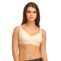 Cotton Rich Non-padded Full Support Bra In Skin
