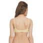 Cotton Rich T shirt Bra With Cross-Over Moulded Cups In Nude