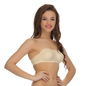 Cotton Balconette Non-Padded Wirefree Tube Bra With Detachable Straps - Skin