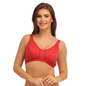 Cotton Non-Padded & Wirefree Sports Bra - Pink