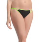 Cotton Spandex Bikini With Light Green Waistband