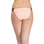 Polyamide & Lace Peach Bikini With Full Back Coverage
