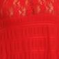 Halter Neck String Back Babydoll - Red