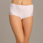 High Waist Hipster With Lace Wings - White