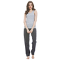Cotton Round Neck Camisole & Pyjama - Blue