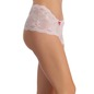 Lace High Waist Hipster - White