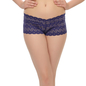 Lacy Hipster Panty In Purple-Blue
