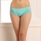 Lacy Polyamide Bikini In Aqua