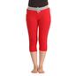Cotton Yoga Capri - Red