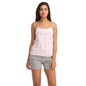 Cotton Printed Camisole & Shorts - Pink