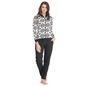 Fleece Jacket & Pyjama Set - White