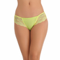 Cotton Bikini In Yellow With Lacy Sides