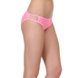 Mid Waist Bikini With 2 String Design - Pink
