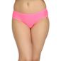 Mid Waist Bikini With Broad Waist Band - Pink
