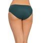 Mid Waist Bikini With Lace Side Wings - Green