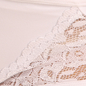 Mid Waist Hipster With Lace Wings - White