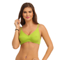 Cotton Non-Padded Wirefree Bra - Green