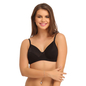 Non-Padded Wirefree Full Cup Bra - Black