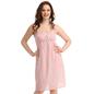 Cotton Short Dress With Floral Prints