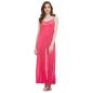 Satin & Lace Nightgown & Matching Robe - Pink