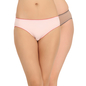 Pack Of 2 Cotton Mid Waist Bikini With Contrast Elastic Trim