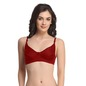 Pack Of 2 Cotton Non Padded Non Wired Bra With Full Cups - Multicolor