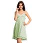 Pista Green Polka Beach Dress