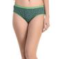Cotton High Waist Panty - Dark Green