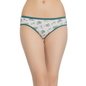 Cotton High Waist Panty - Dark Green