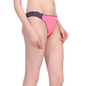 Polyamide Lacy Brief In  Pink