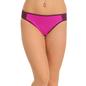 Polyamide & Lace Bikini Brief In Purple