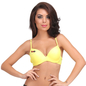 Push Up T-shirt Bra in Yellow