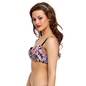 Push-Up Balconette Bra In Navy With Detachable Straps