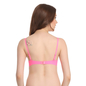 Push Up Underwired Bra With Detachable Straps - Pink