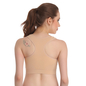 Racer Back Non-Padded Wirefree Sports Bra - Skin