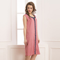Romantic Pink Crepe Short Nightie