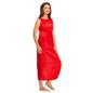 Satin Nighty & Robe Set - Red
