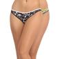Set Of 2 Cotton & Lace Midwaist Bikinis