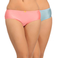 Set Of 2 Mid Waist Hipster With Trimmed Elastic - Multicolor