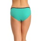 Set of 2 Cotton High Waist Hipster - Pink & Green