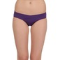 Set of 2 Mid Waist Bikinis - Purple & Blue