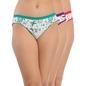 Set Of 3 Cotton Mid Waist Bikini - Multicolor